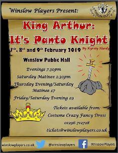 King Arthur: It's Panto Knight!