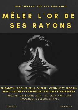Mêler L'Or De Ses Rayons - Two Operas for the Sun King