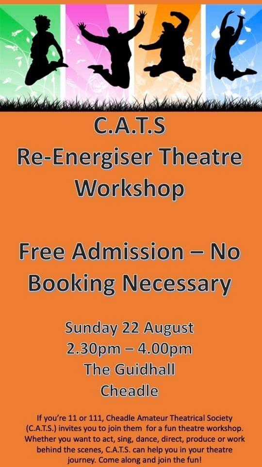 C.A.T.S. Re-Energiser Theatre Workshop