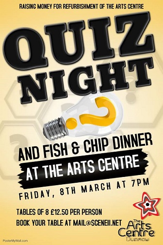 Quiz Night, Fish and chip dinner