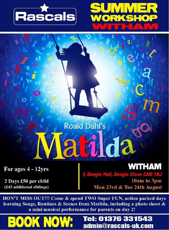MATILDA – The Mini Musical - Holiday Club