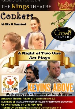 Conkers by Alice M Underwood & Kevins Above By Claire Scott