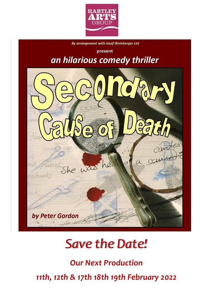 Secondary Cause of Death by Peter Gordon