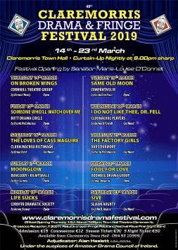 Claremorris Drama & Fringe Festival 2019