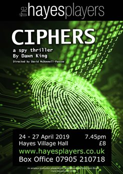 Ciphers a spy thriller by Dawn King