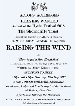 Raising the Wind (Or how to get a free Breakfast)