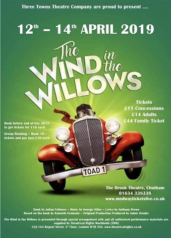 The Wind In The Willows - the Musical