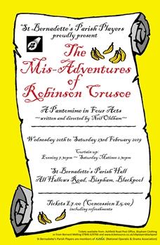 The Mis-Adventures of Robinson Crusoe
