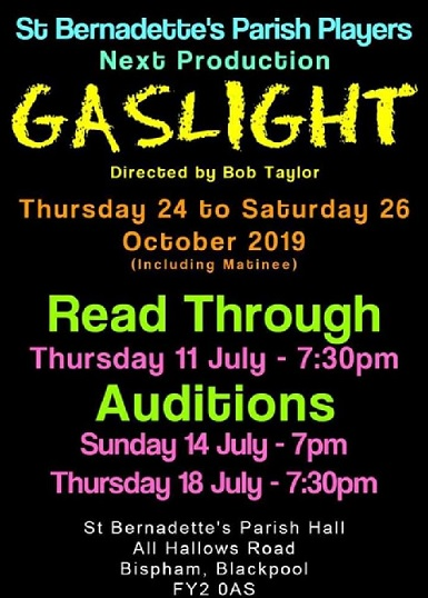 Gaslight Directed by Bob Taylor
