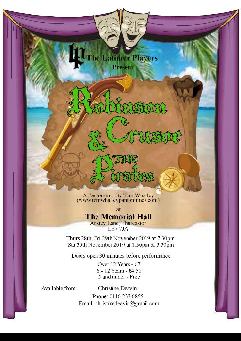 Robinson Crusoe and the Pirates