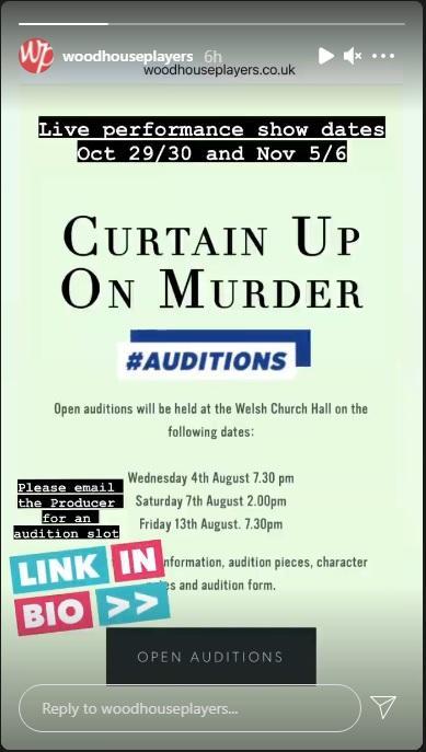 Curtain Up On Murder BY BETTINE MANKTELOW