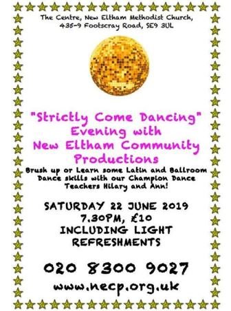 Strictly Come Dancing evening with New Eltham Community Productions