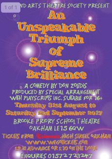 An Unspeakable Triumph Of Supreme Brilliance