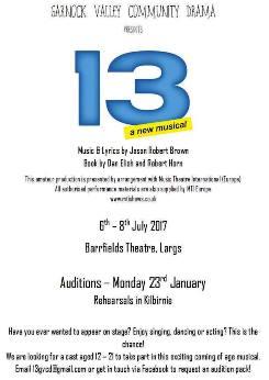 13 a new musical