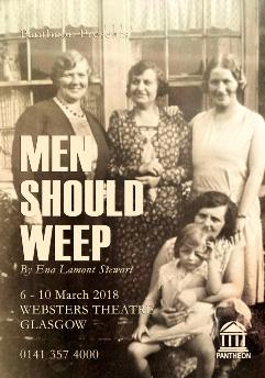 MEN SHOULD WEEP