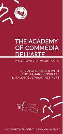 The Academy of Commedia dell'Arte - Masterclass in Edinburgh