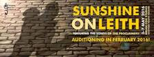 Sunshine On Leith auditions