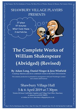 THE COMPLETE WORKS OF WILLIAM SHAKESPEARE (ABRIDGED) (REVISED)