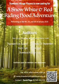 A Snow White & Red Riding Hood Adventure