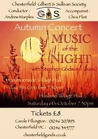 Autumn Concert Music of the Night