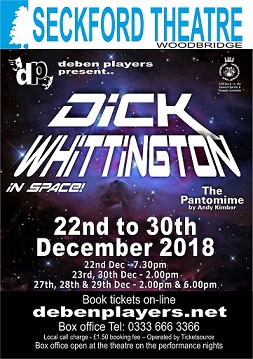Dick Whittington IN SPACE