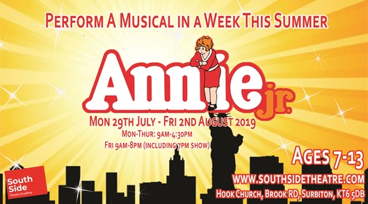 Annie JR - Summer Holiday Musical in a Week