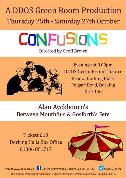 Confusions: Between Mouthfuls and Gosforth's Fete