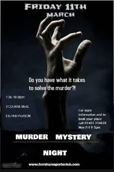 Murder Mystery Night