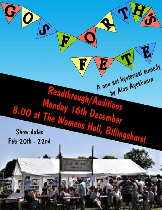 Gosforth's Fete by Alan Ayckbourn