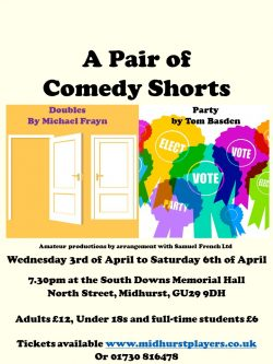 A Pair of Comedy Shorts