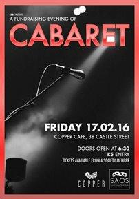 A Fundraising Evening of Cabaret
