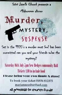 Murder, Mystery, Suspense