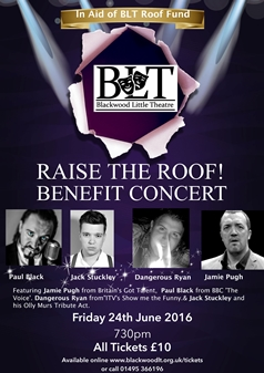 In Aid of the BLT Roof Fund Raise the Roof! Benefit Concert