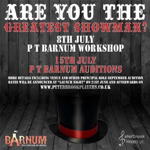 Barnum Workshop & Audition
