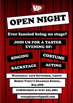 Vesey Players Taster Evening