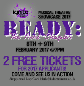 Ready! The Next Chapter - Musical Showcase Theatre