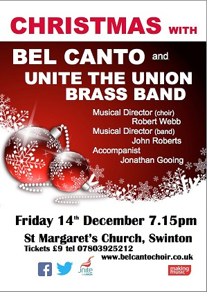 Christmas Concert with Unite the Union Brass Band