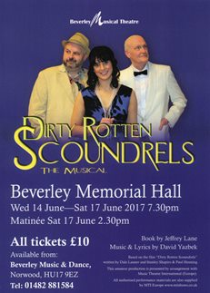 Dirty Rotten Scoundrels The Musical