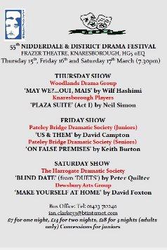 Nidderdale & District Drama Festival