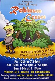 Robinson Crusoe Pantomime