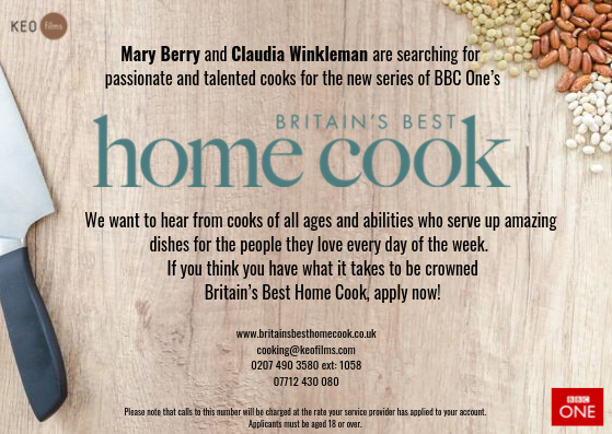 Britain's Best Home Cook Competition