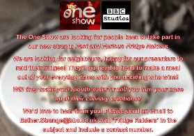 BBC The One Show Fridge Raiders