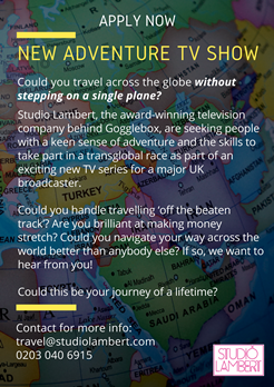 Studio Lambert - New Adventure Travel TV Series
