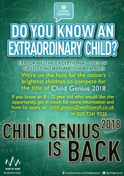 Child Genius 2018
