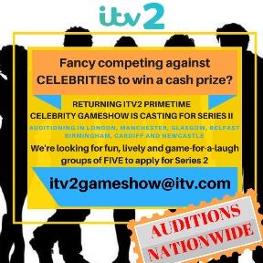 ITV2 Celebrity Gameshow