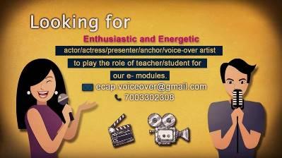 voice-over artist