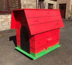 Snoopy's kennel